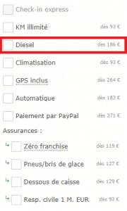 filtre diesel sur carigami.fr