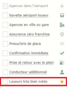 filtre loueur bien noté sur carigami.fr