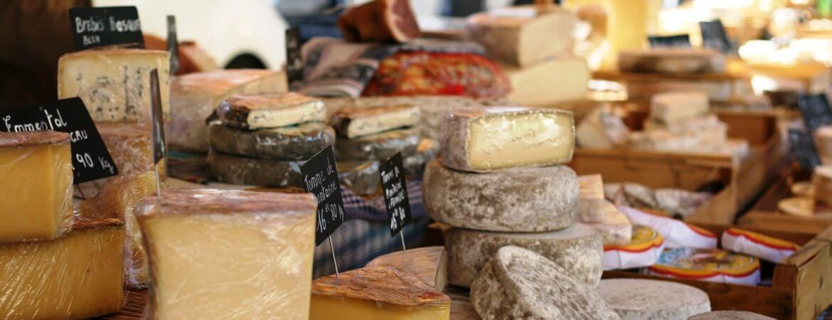 La Carte Des Fromages De France