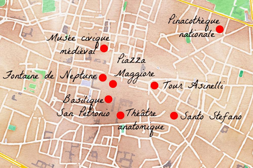 Voici les principales choses à voir à Bologne !