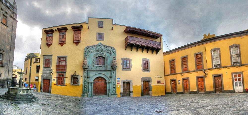 Vue du vieux Las Palmas sur l'île de Grande Canarie.