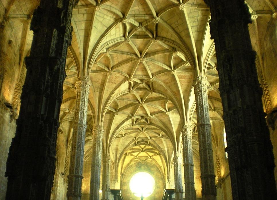 Le monastères des Jeronimos de Belém à Lisbonne.
