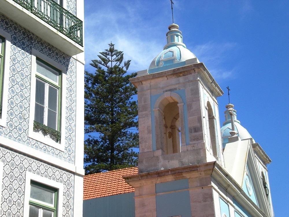 A Cacilhas près de Lisbonne