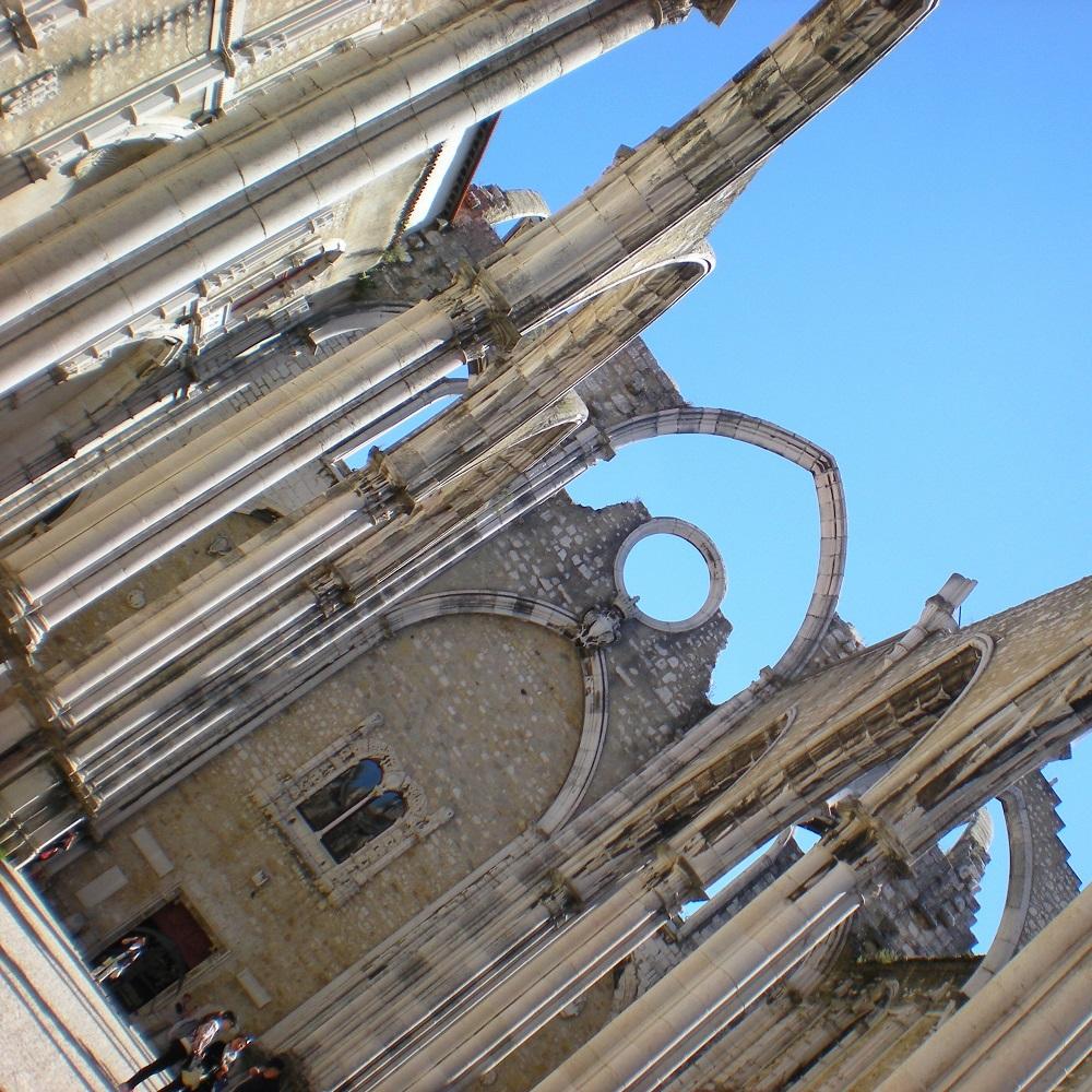 L'ancien couvent des Carmes de Lisbonne.