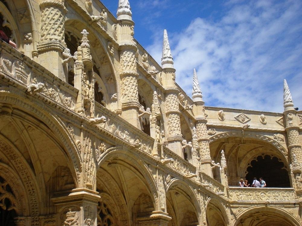 Le monastère des Jeronimos de Belém à Lisbonne