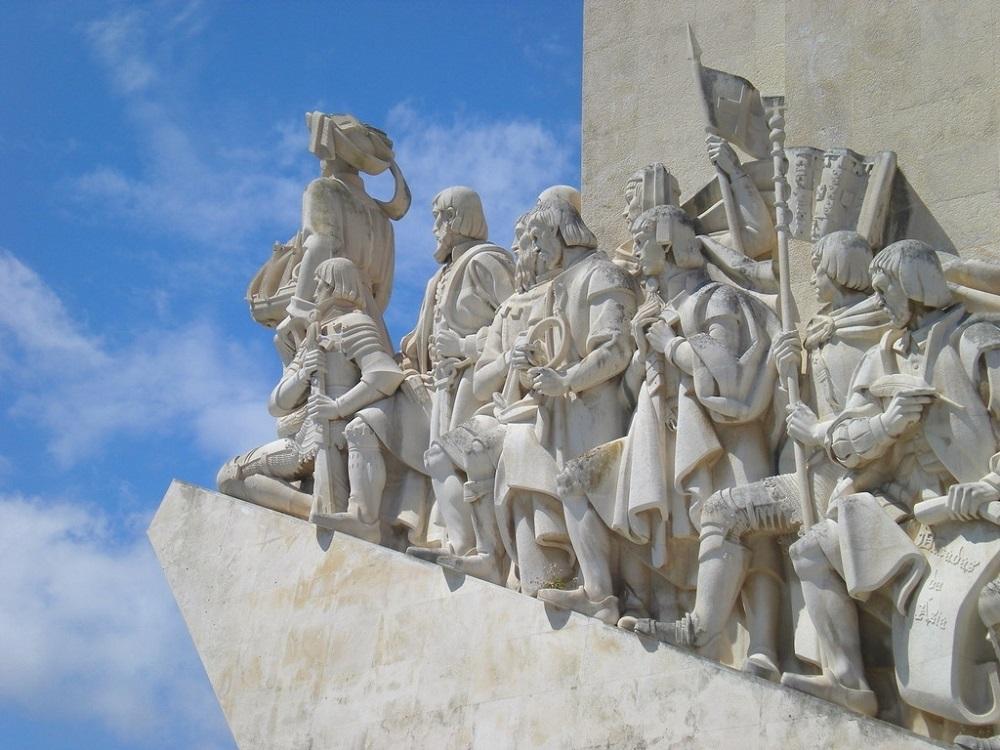 Le monument aux Découvreurs à Lisbonne