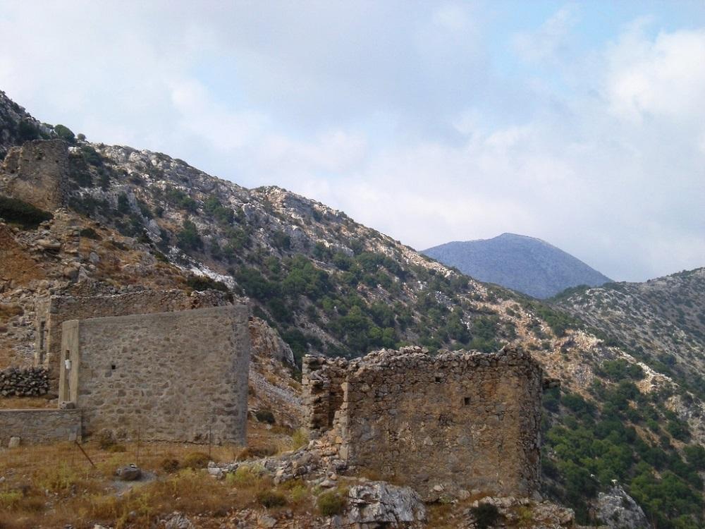 Les moulins à vent du plateau de Lassithi.