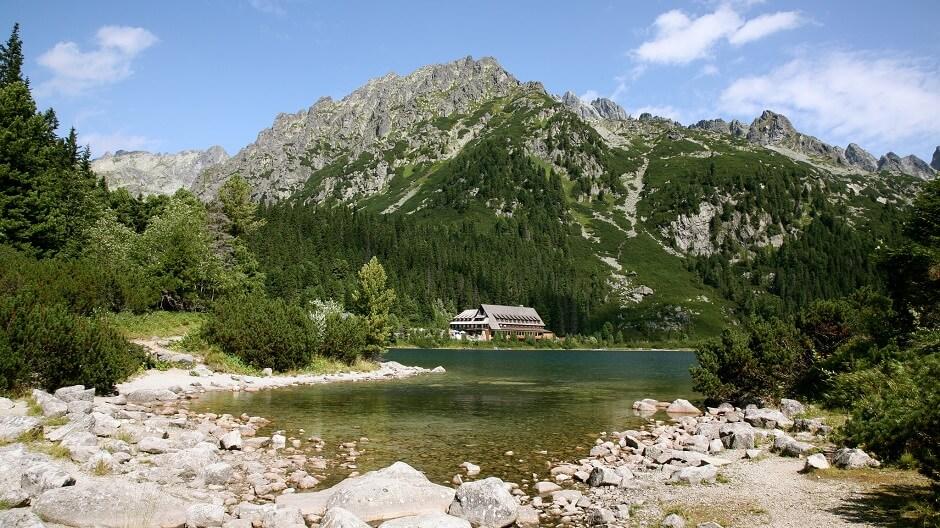 Vue du parc national des Tatras en Slovaquie.
