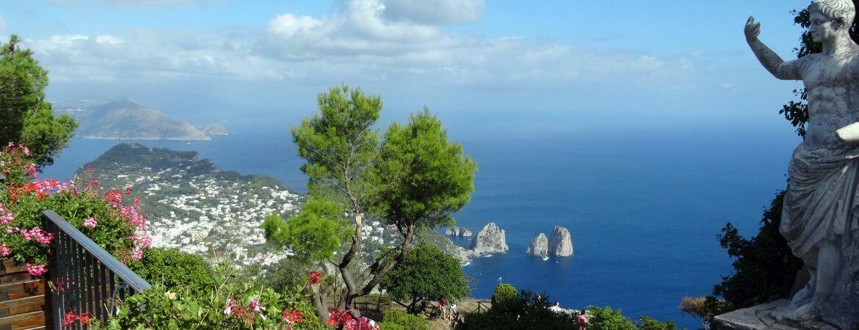 Sur l'île de Capri en Italie.