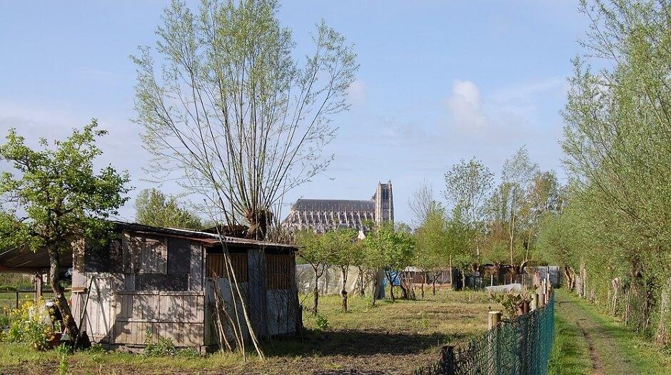 Les marais de Bourges.