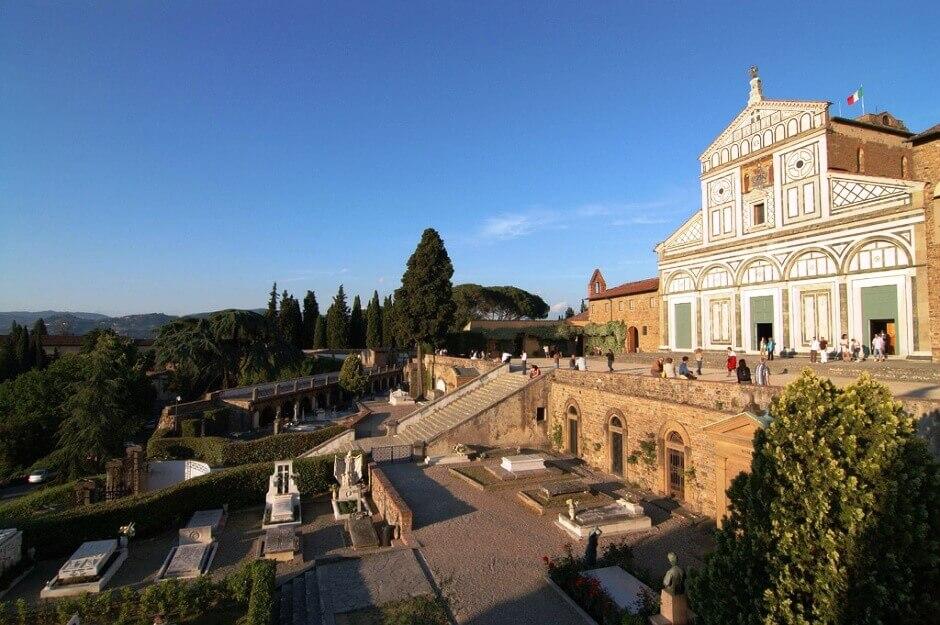 Vue de San Miniato à Florence.