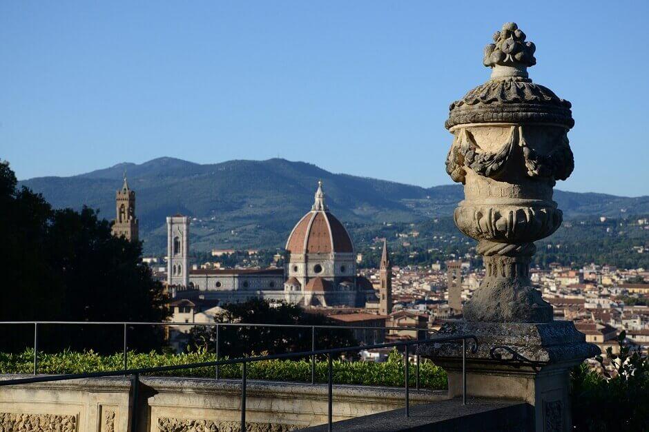 Vue générale de Florence.