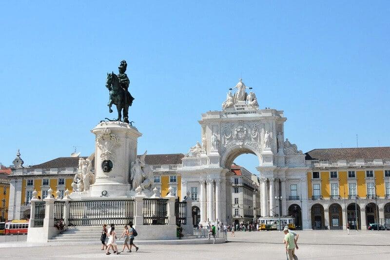 Place à Lisbonne.