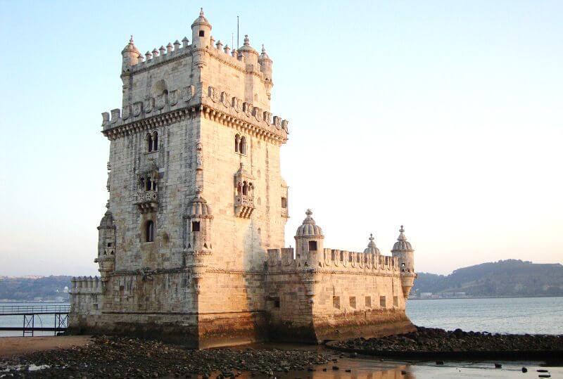 Vue de la Tour de Belém à Lisbonne