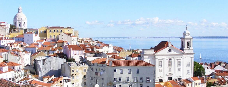 Panorama sur Lisbonne.