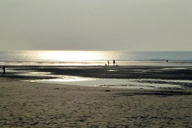 Vue de la plage du Touquet-Paris Plage.