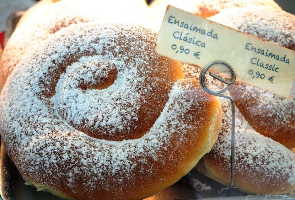 Une pâtisserie typique de Majorque.