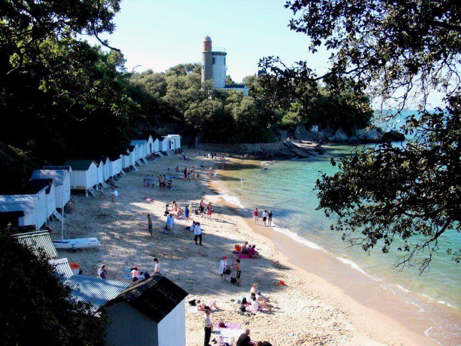 Une plage sur l'île de Noirmoutier,