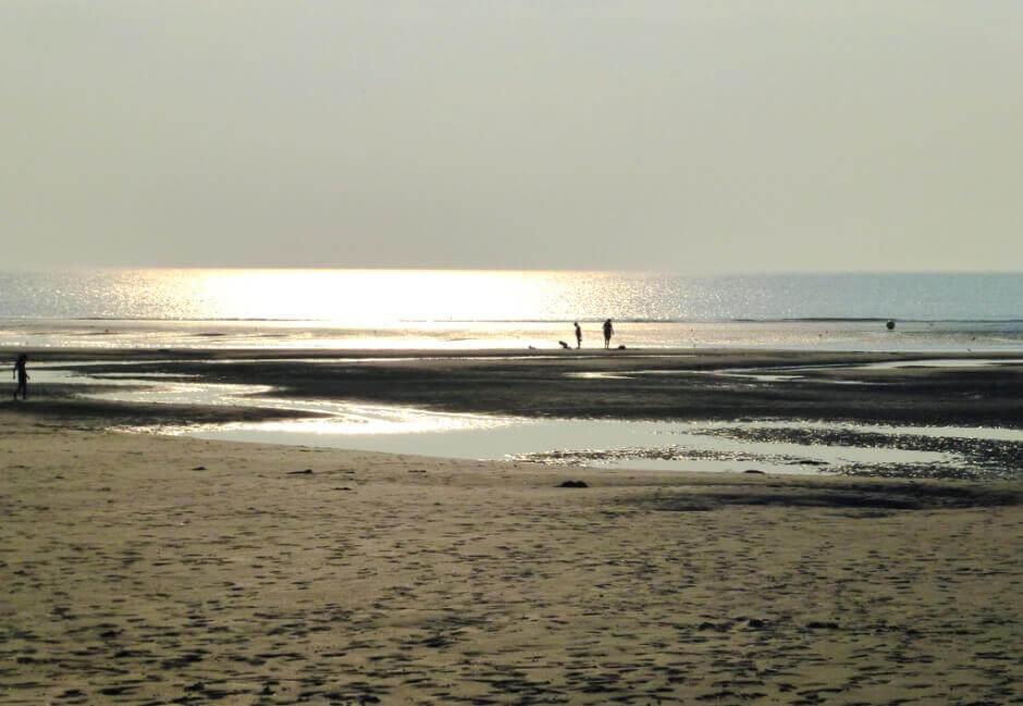 Vue de la plage du Touquet.