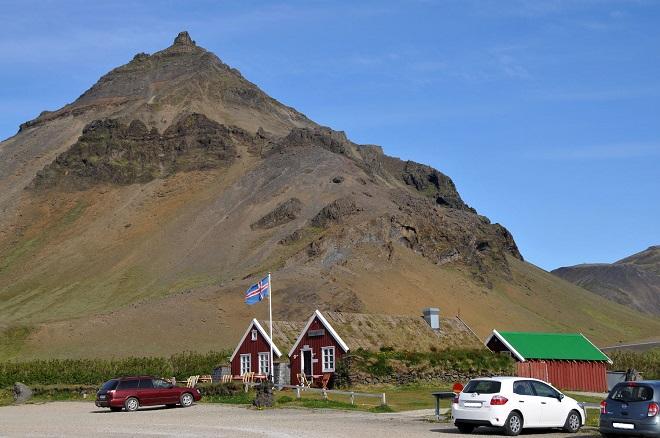 Dans la péninsule de Snaefellsnes en Islande.