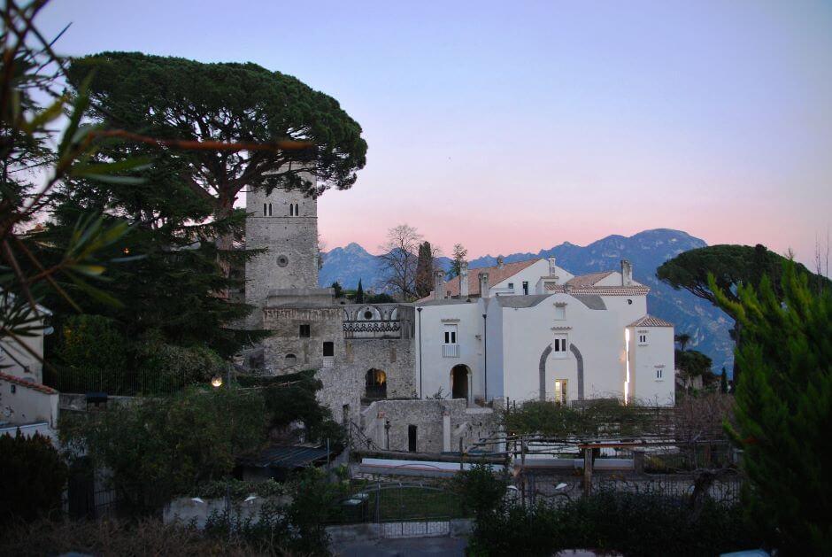 Vue du village de Ravello en Italie.