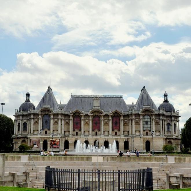 Vue du palais des Beaux-Arts de Lille.