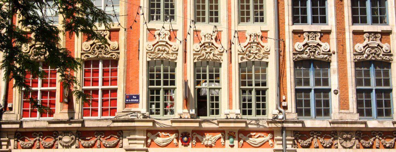 Vieilles façades à Lille.