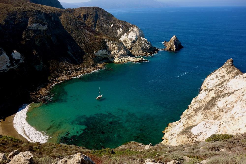 Parc national de Channel Islands en Californie USA.