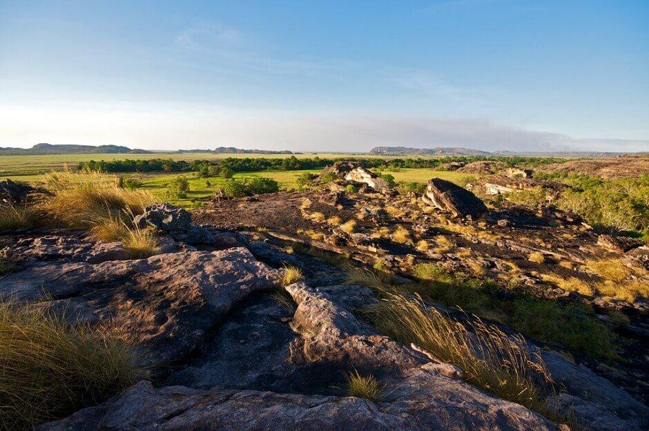 Vue du parc national de Kakadu en Australie.