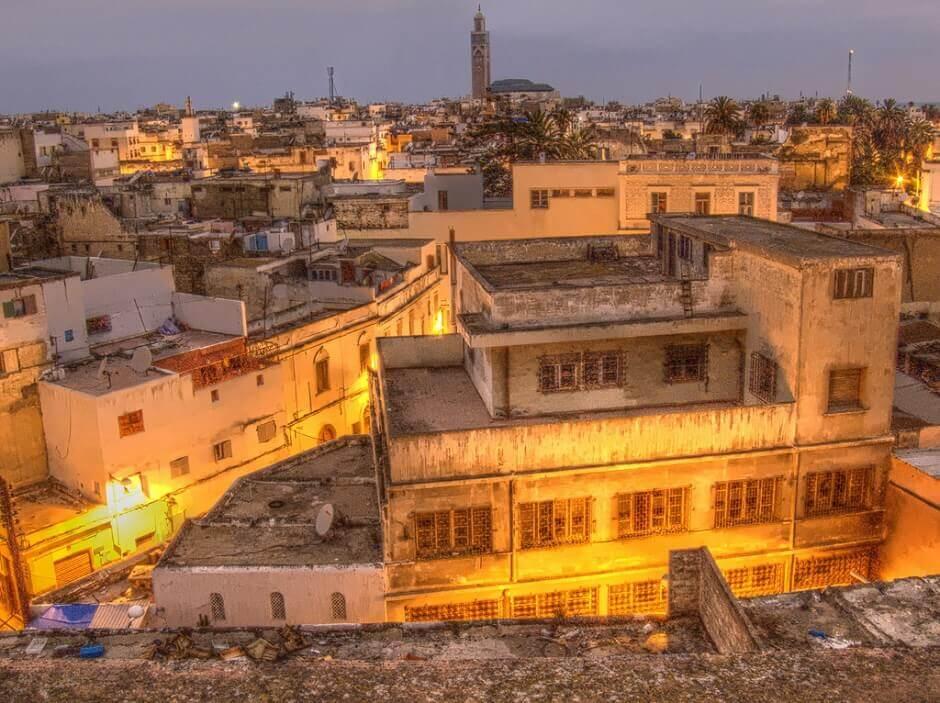 La vieille ville de Casablanca.