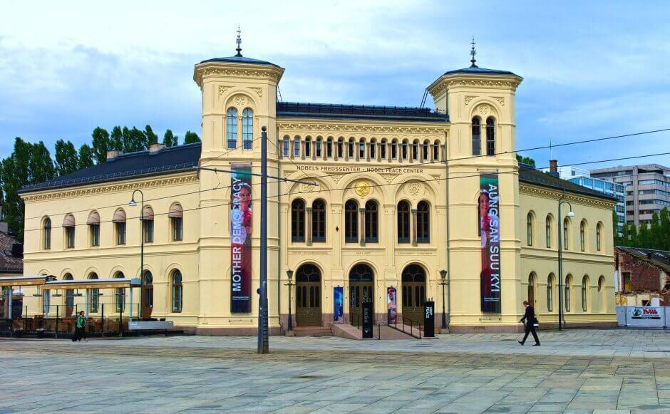 Le Centre Nobel de la Paix à Oslo.