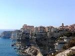 Vue de Bonifacio en Corse