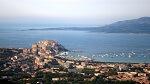 Vue de Calvi en Corse
