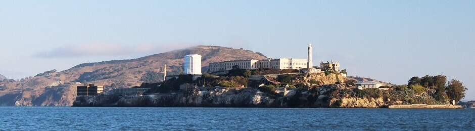 La prison d'Alcatraz à San Francisco.