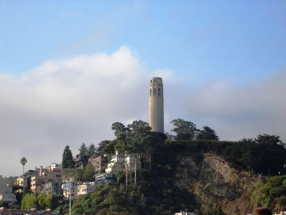 Coit Tower à San Francisco.