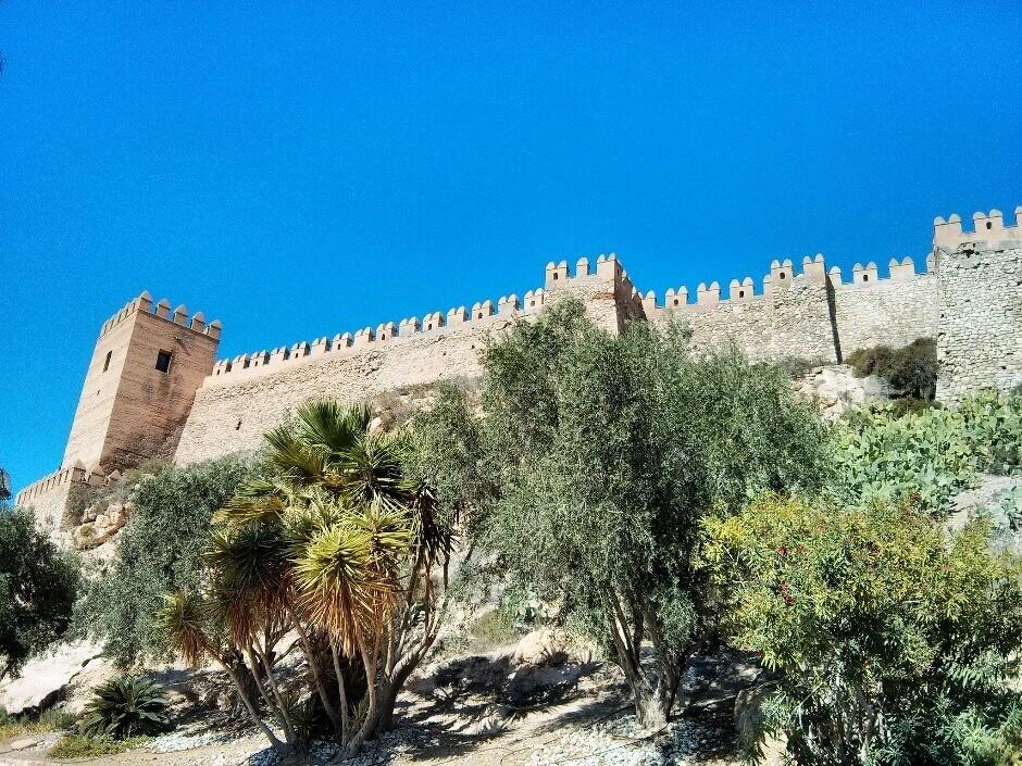 Un château en Andalousie.