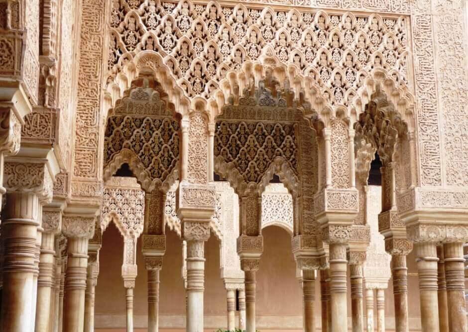 Un palais en Andalousie.