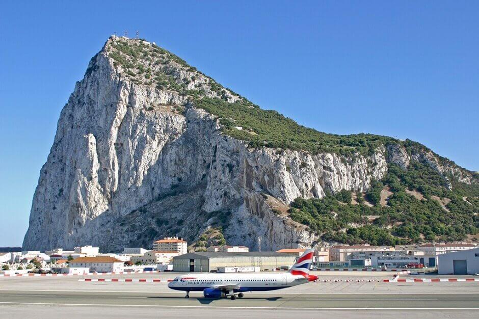 Vue de Gibraltar.