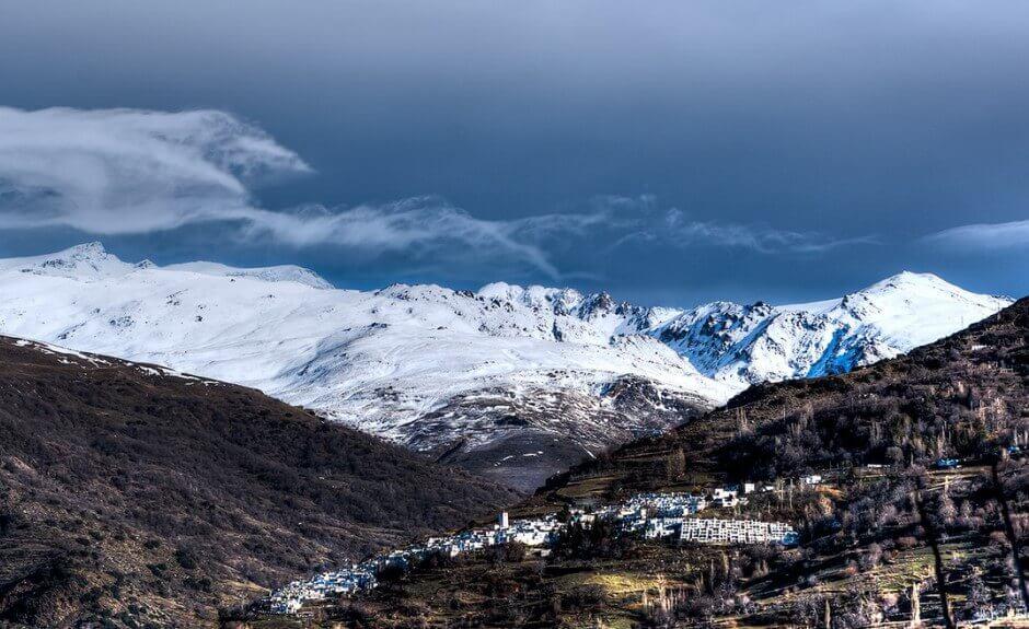 Montagne en Andalousie.