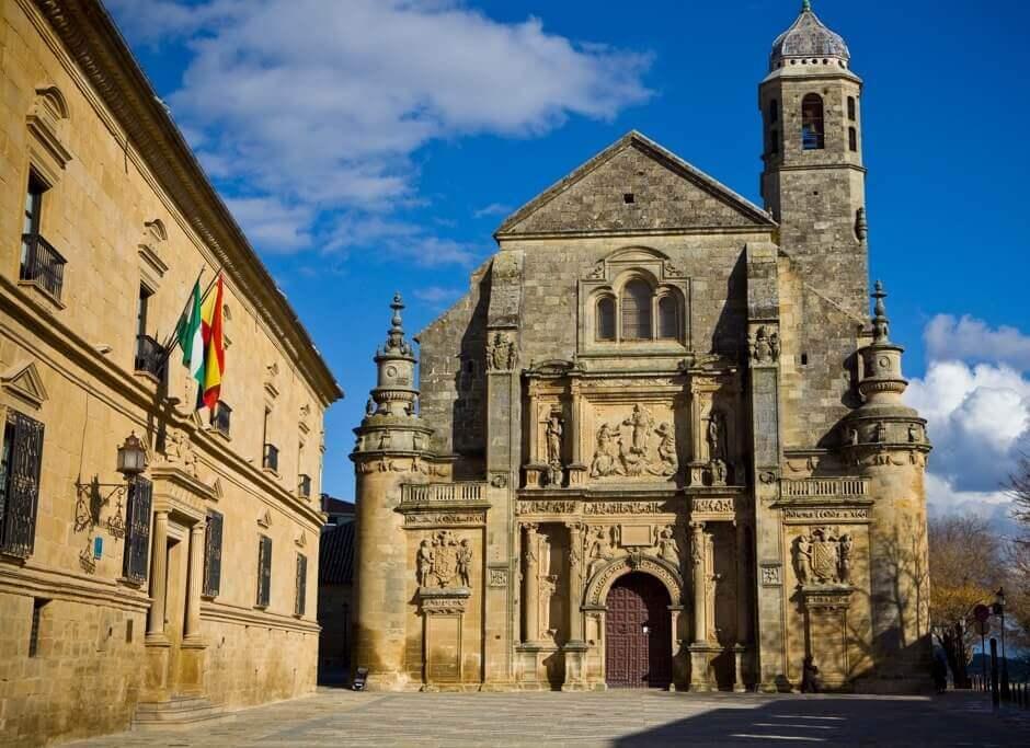 Une église à Úbeda en Andalousie.
