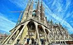 L'église de la Sagrada Familia à Barcelone