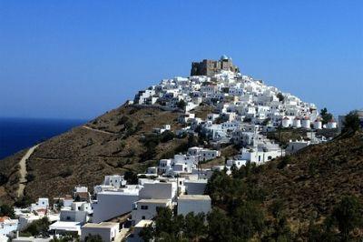 Vue de l'île grecque d'Astypalea.