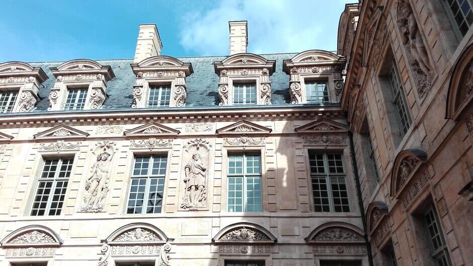 Cour intérieur de l'Hôtel de Sully