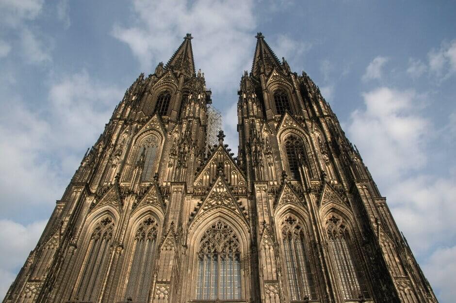 Façade de la Cathédrale de Cologne