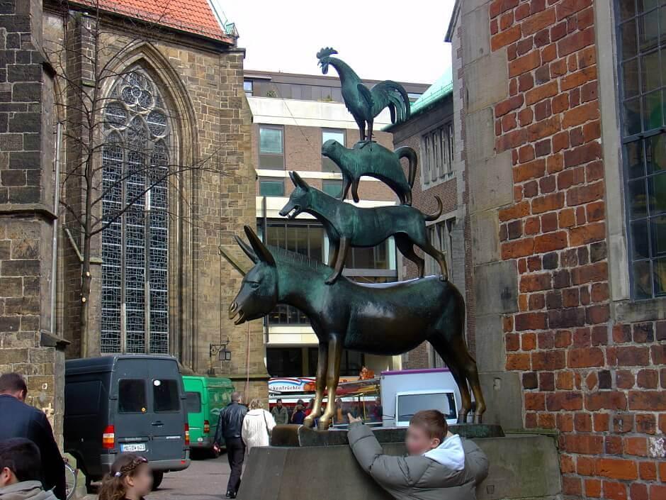 Statue des musiciens de Brême