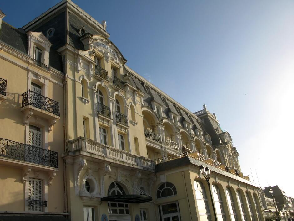 Façade du Grand Hôtel de Cabourg