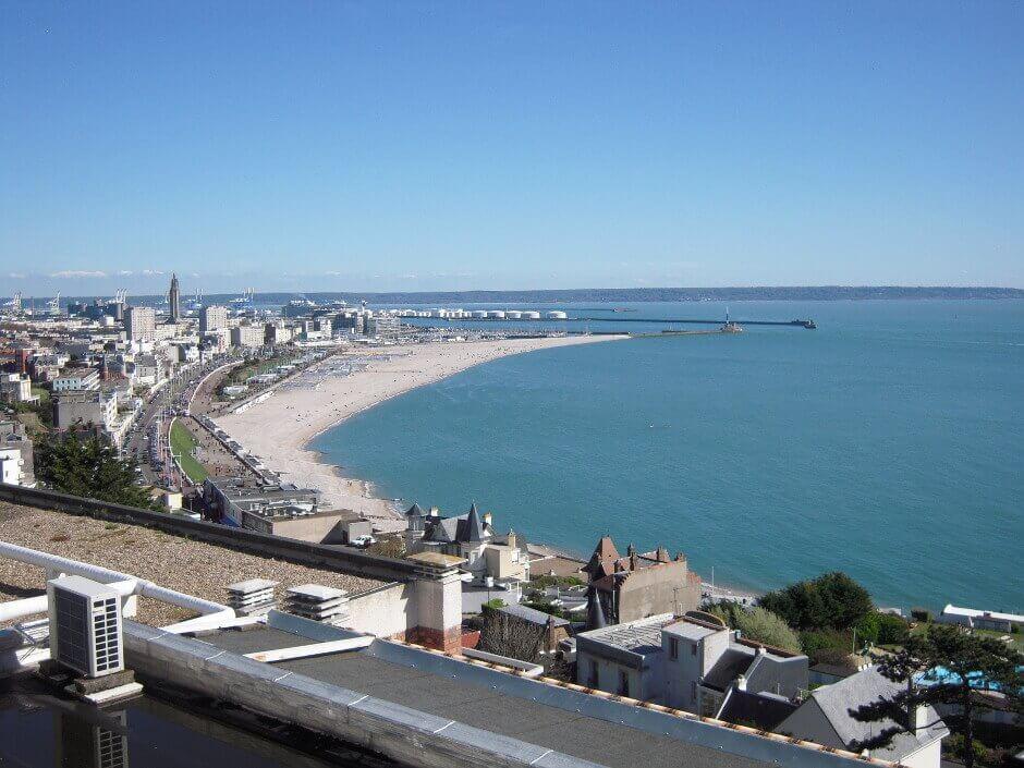 Vue sur la Havre