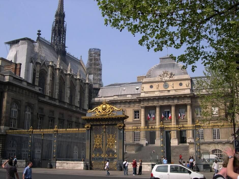 Sainte-Chapelle et Palais de Justice