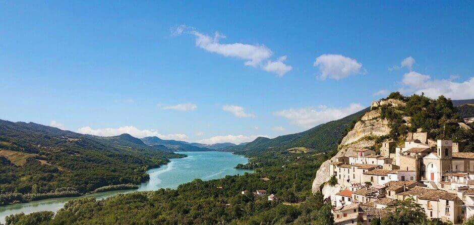 Lago di Bomba Abruzzo