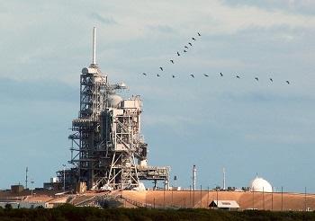 Cap Canaveral en Floride.